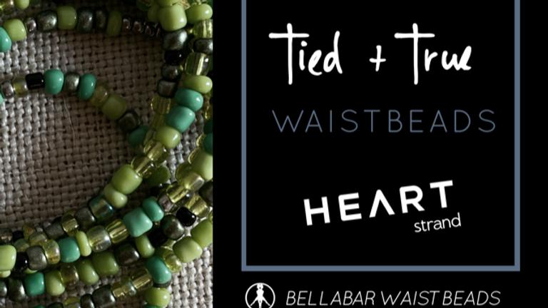 GREEN One-Of-A-Kind Waistbeads