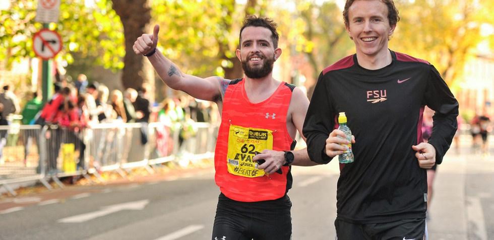 Near The Finish of The Marathon