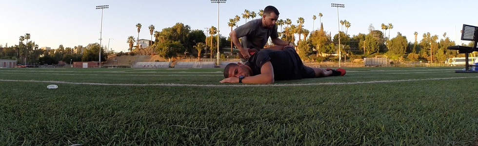 Stretching An Olympic Champion