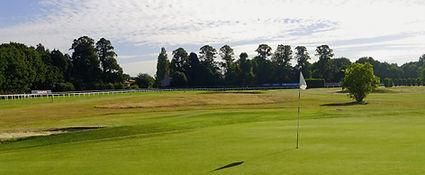 7th green at Sandown Park Golf Centre