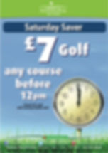 Saturday Saver golf at Sandown £7