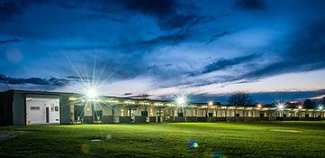 Driving Range at Night, Sandown Park Golf Centre