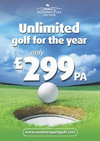 Golf membership at Sandown Park