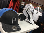 Golf hats & shoes