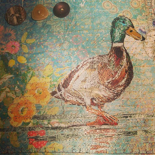 #stitchedcollage #hannemade #workshop