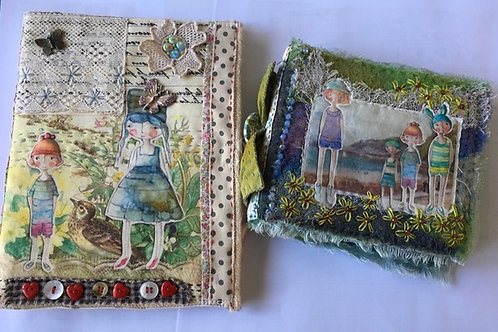 Annette Emms - 2 day Embellished Mixed Media Books 1st and 2nd May 2021