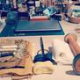 Ok so tidy studio....tick. all ready to