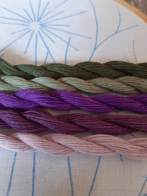 Set 4 - Embroidery Threads