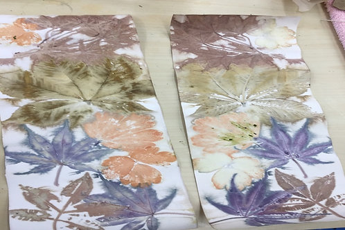 Fiona Balding - 2 days Eco Printing 8th & 9th May 2021
