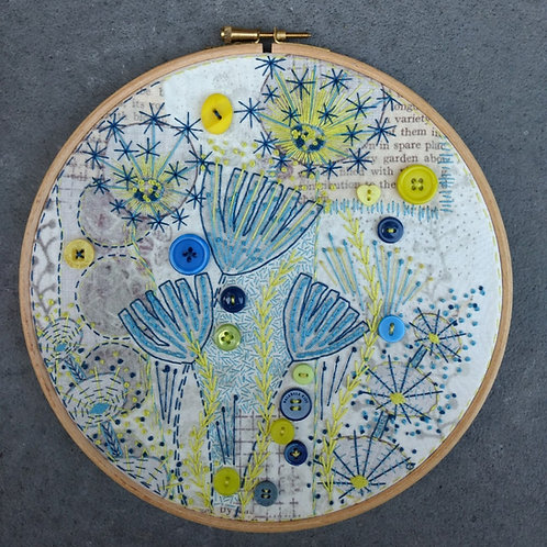 HanneMADE embroidery kit (g/b)