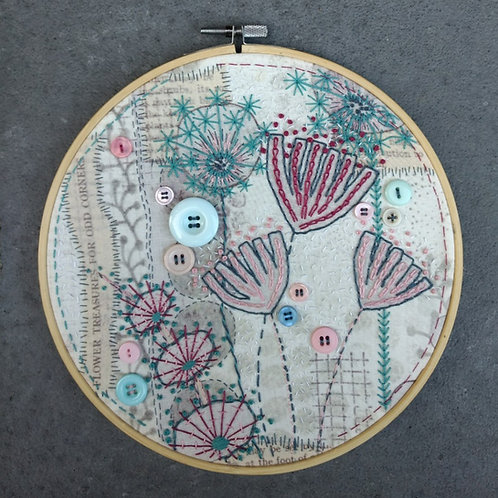 HanneMADE embroidery kit (b/p)