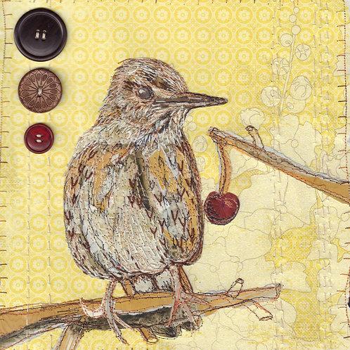 'Bird collage' cards
