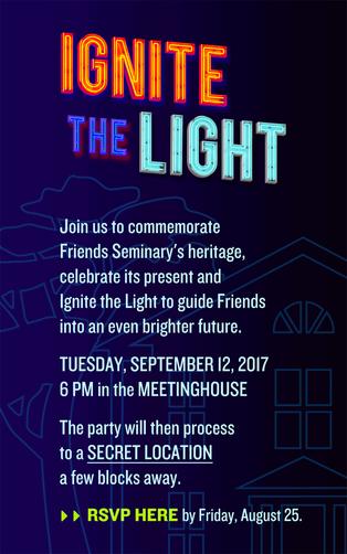 Ignite the Light   Sept. 12