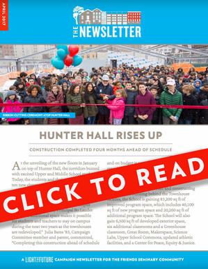 Light the Future Newsletter | April  2017
