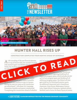 Light the Future Newsletter   April  2017