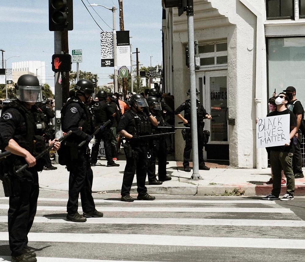 Black Lives Matter Protest LA 2020