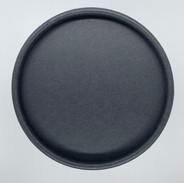 Box aus Pappe matt schwarz