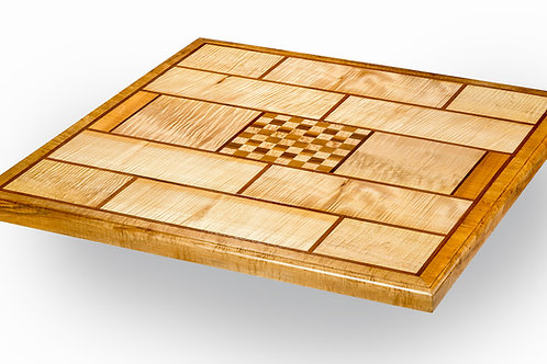 Tall Square Table w/Chess Board