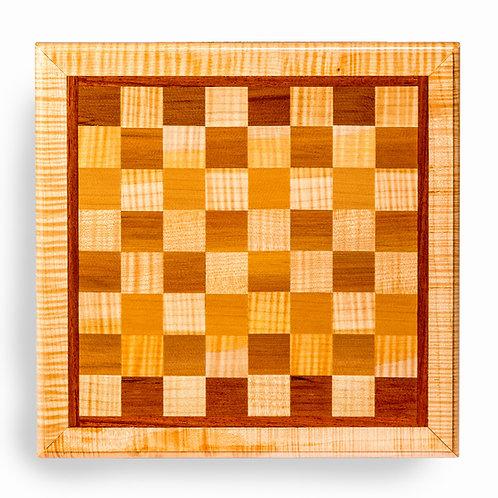 """Chess Board 15""""L x 15-1/4""""W x 1-1/8""""H"""