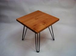 Square Alder End Table