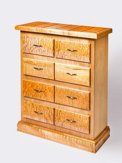 """Tall Five Drawer Dresser 45-1/4""""L x 20-1/4""""W x 51-1/2""""H"""