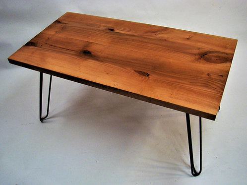 "Rectangle Alder Coffee Table  44""L x 23""W x 21""H"