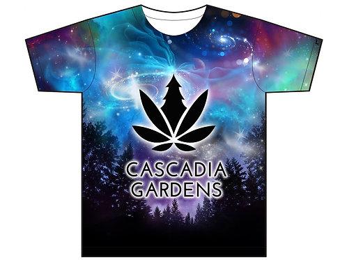 CASCADIA GARDENS Sublimation T-Shirt