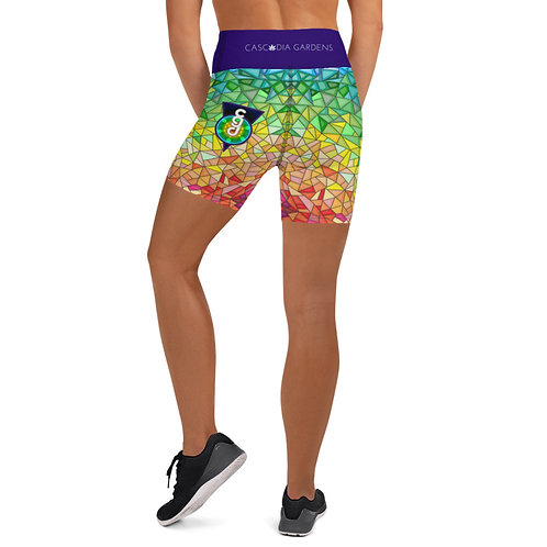 Womens Yoga Shorts CGD Original
