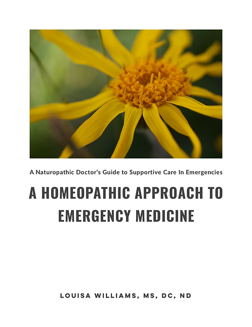 A Homeopathic Approach to Emergency Medicine