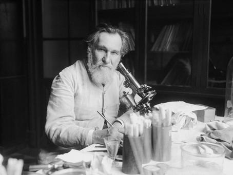 Dr. Ilya Metchnikoff Drank Cholera and Lived!