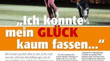 Artikel über die Schweizermeisterschaft 2010 in Wichtrach im Magazin Hunde-Welt Sport 1/11