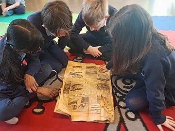 Year 4: Creating news reports