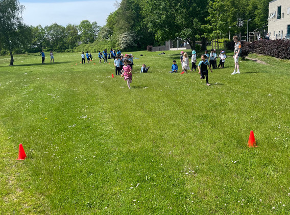 Early Years picnic International School Ikast Brande