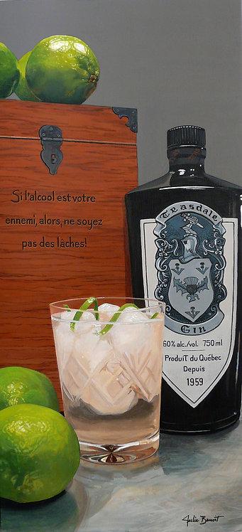 Gin Teasdale (vendu)