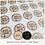 Thumbnail: REPEAT ORDER 35mm Circle Stickers - Kraft Brown