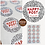 Thumbnail: 51mm Happy Post Stickers/ Recycled/Dalmatian