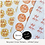 Thumbnail: REPEAT ORDER 35mm Circle Stickers - White or Colour