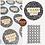 Thumbnail: 35mm Thank You Stickers/ Recycled/Dalmatian/ Black & Tan