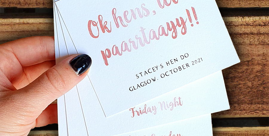 Hen Party Itinerary/ Happy Tiers Style
