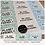 Thumbnail: Mixed Eco Stickers - Dalmatian - 64mm Rectangles