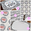 Thumbnail: Small Biz Bundle - Dalmatian Print - Pastel Rainbow