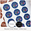 Thumbnail: REPEAT ORDER 51mm Circle Stickers - White or Colour