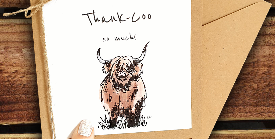 Thank-Coo Card