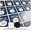 Thumbnail: REPEAT ORDER 35mm Square Stickers - White or Colour