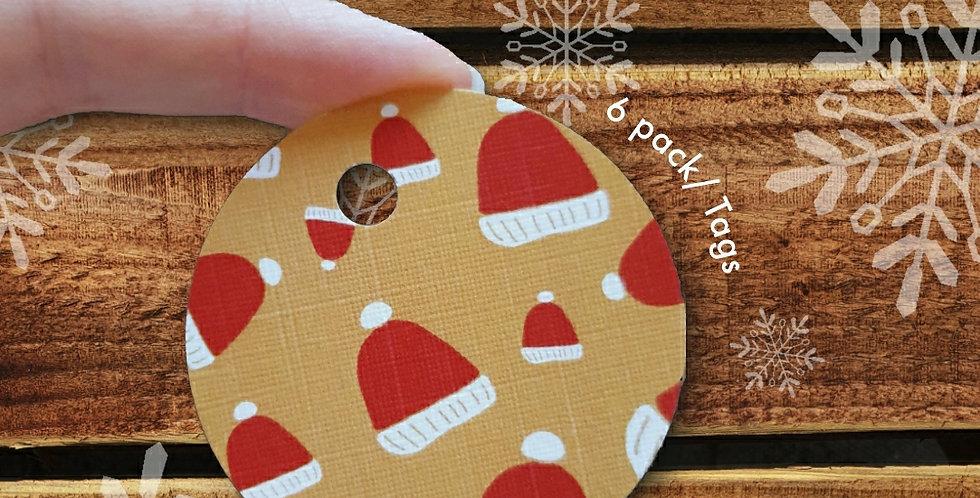 6 pack/ Christmas Tags