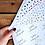 Thumbnail: 10pk/ A4 Vellum Wrapping Sheets Pattern/ Plastic Free