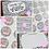 Thumbnail: Small Biz Bundle/ Dalmatian Print/ Warm Rainbow
