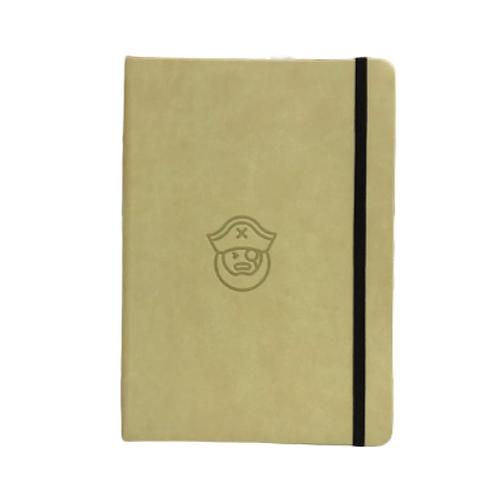 Pirate A5 Elastic Notebook