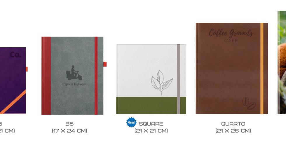 Scribblastic Notebooks Sizes