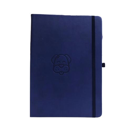 Dog A5 Elastic Notebook